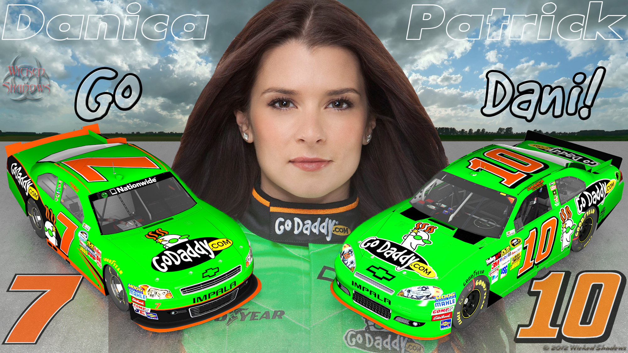Danica patrick showing her boobs consider, that