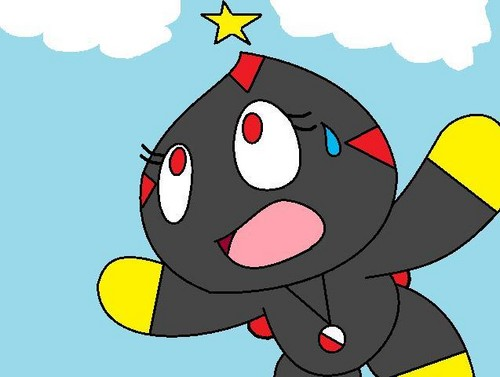 Darkness or Sally the chao Victoria's chao