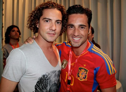 David Bisbal e David Bustamante