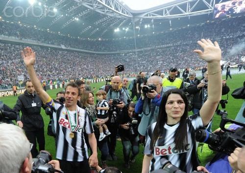 Del Piero last game in Juventus