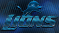 Detroit Lions Heavy Metal 16x9 Text N Logo Wallpaper - detroit-lions fan art