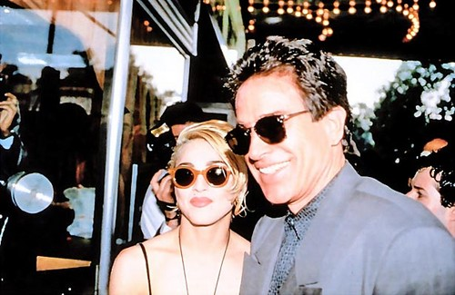 Dick tracy premiere with warren beatty