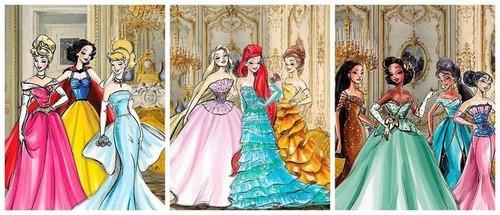 迪士尼 Designer Princesses Banner