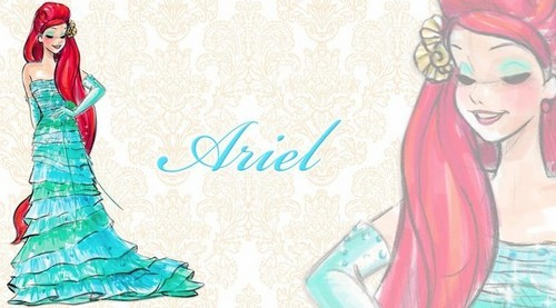 迪士尼 Designer Princesses: Ariel