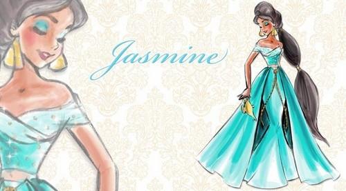 ディズニー Designer Princesses: ジャスミン