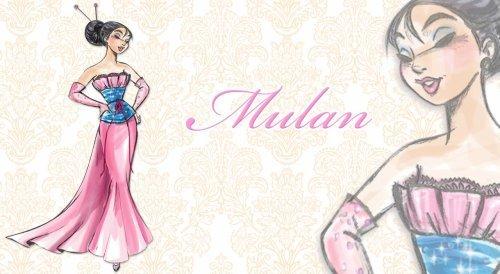 迪士尼 Designer Princesses: 花木兰