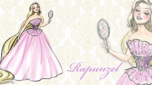 迪士尼 Designer Princesses: Rapunzel