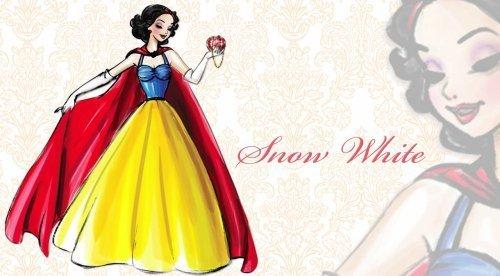迪士尼 Designer Princesses: Snow White