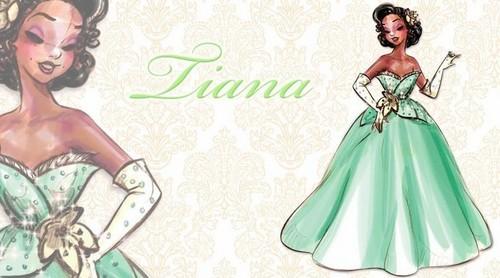 Дисней Designer Princesses: Tiana