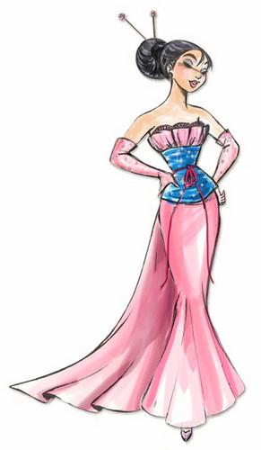 디즈니 Designer Princesses: 뮬란