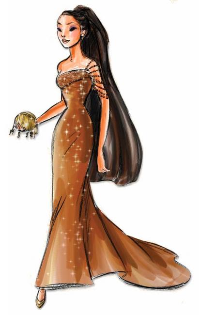 Disney Designer Princesses Pocahontas Disney Princess