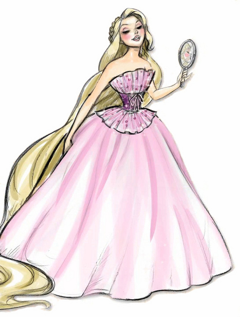 disney designer princesses rapunzel disney princess