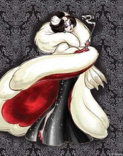 Disney Designer Villains: Cruella De Ville - disney-princess Photo