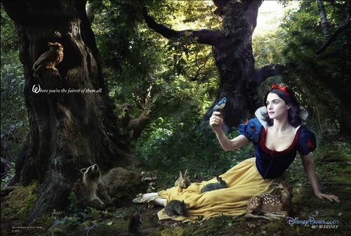 Disney Dream Portraits: Rachel Weisz as Snow White