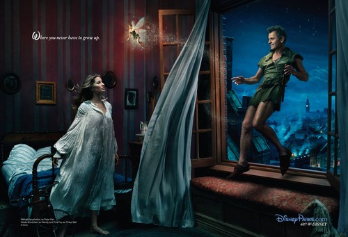 Disney Dream Portraits: Gisele Bunchen, Tina Fey, and Mikhail Baryshnikov