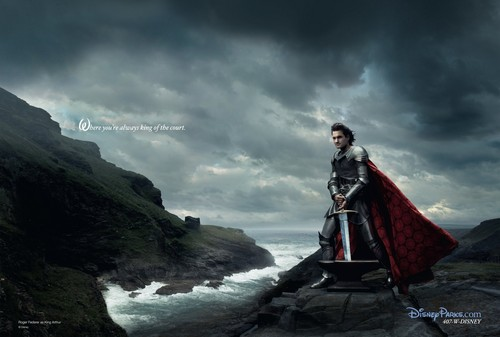 Disney Dream Portraits: Roger Federer as King Arthur
