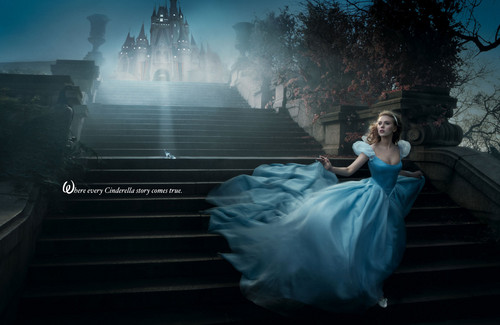 Disney Dream Portraits: Scarlett Johannson as Cinderella