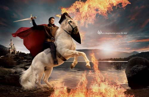 Disney Dream Portraits: David Beckham as Prince Phillip