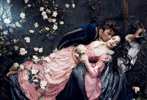 Disney Dream Portraits: Vanessa Hudgens as Aurora and Zac Effron as Prince Phillip - disney-princess Photo
