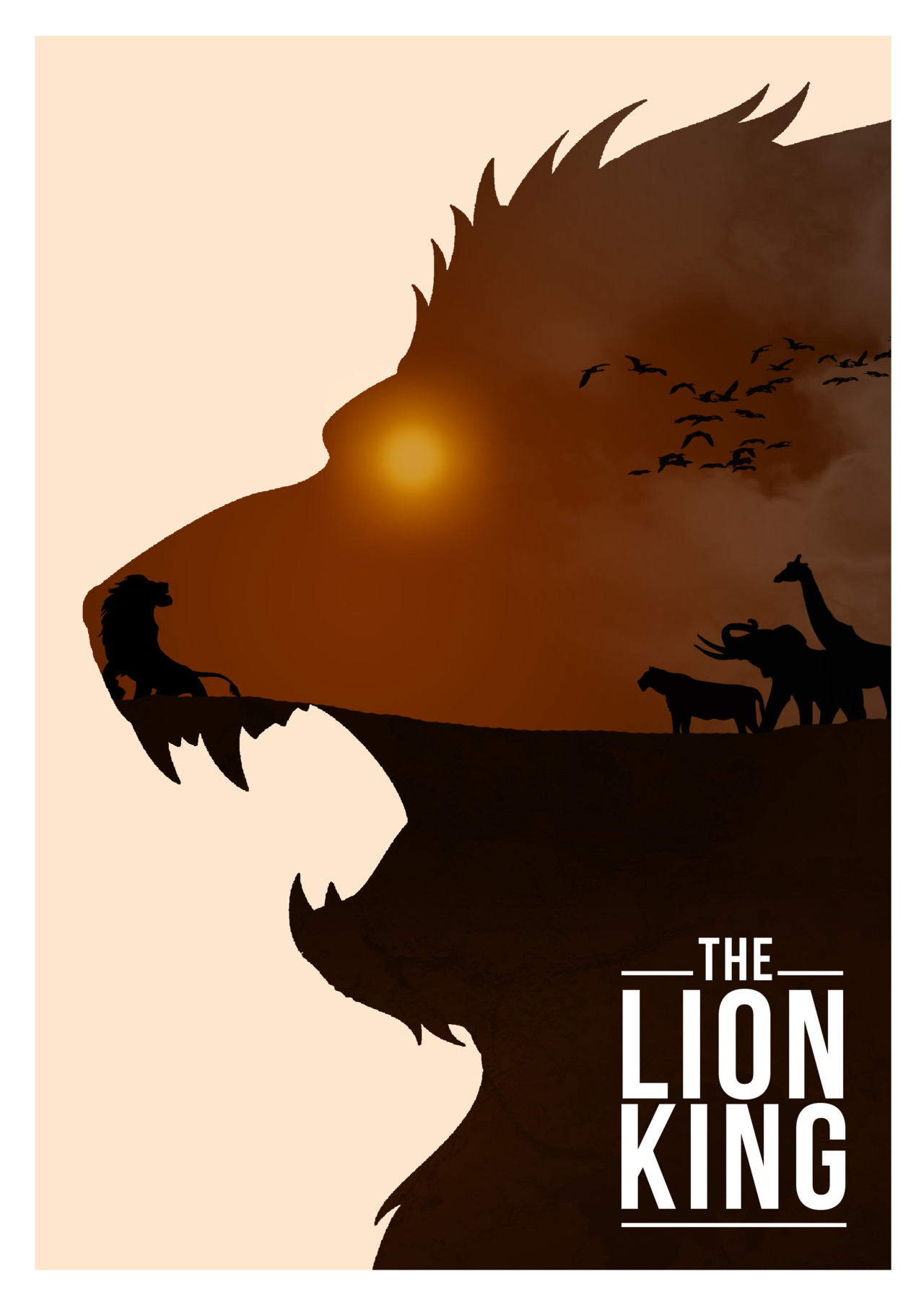 Disney images Disney Movie Minimalist Poster: The Lion ...