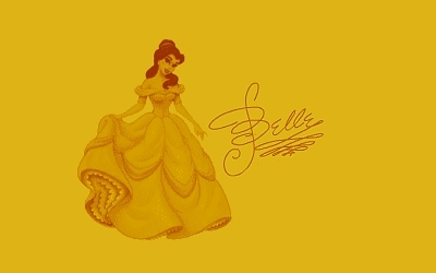Disney Princess Signatures: Belle