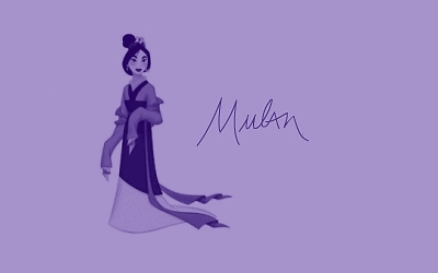 Disney Princess Signatures: Mulan