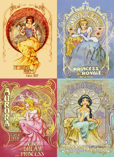 The Real - Quail Bell Magazine |Vintage Disney Princess