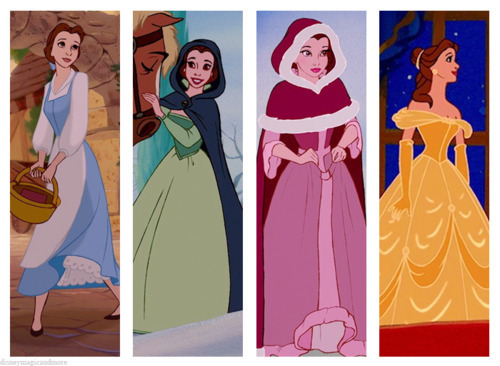 disney Princess Wardrobes: Belle