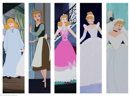 Disney Princess Wardrobes: cinderella
