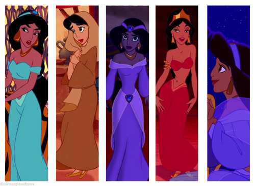 disney Princess Wardrobes: melati