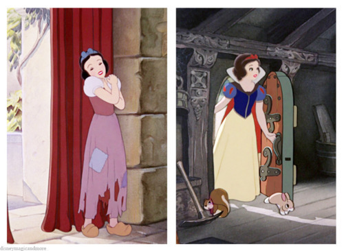 迪士尼 Princess Wardrobes: Snow White