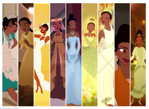 Disney Princess Wardrobes: Tiana
