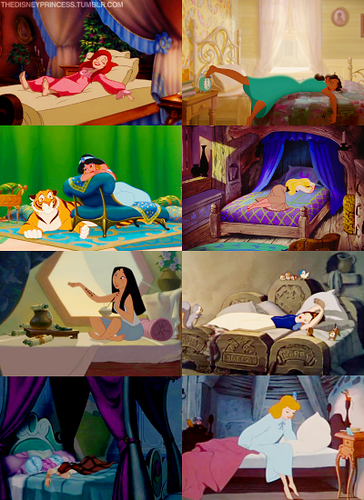 Disney Princesses Bedrooms - disney-princess Photo