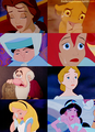 迪士尼 Princesses: Crying