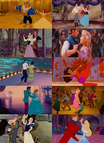 Disney Princesses Dancing - disney-princess Photo