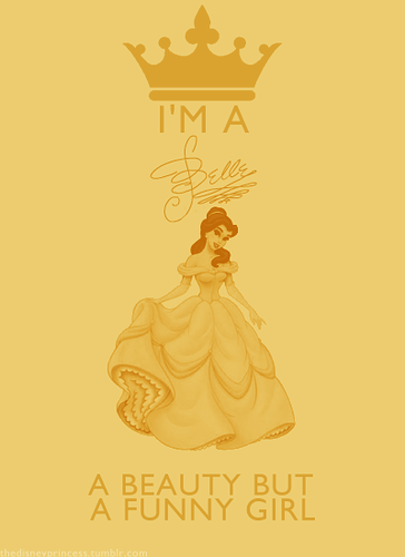 Дисней Princesses: I'm a... Belle