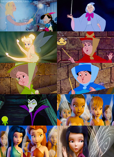 Disney Princesses: Fairies