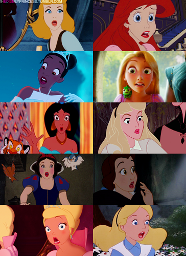 Disney Princesses: Surprise!