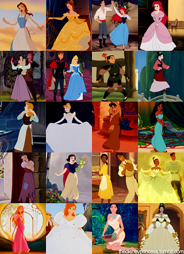 Disney Princesses: Peasants to Princesses - disney-princess Photo