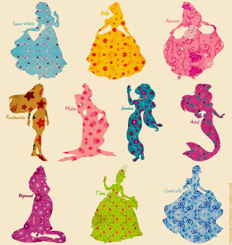 迪士尼 Princesses