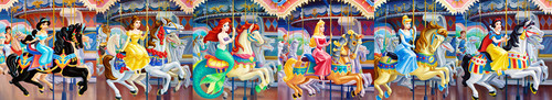 Disney Princesses Carousel Banner