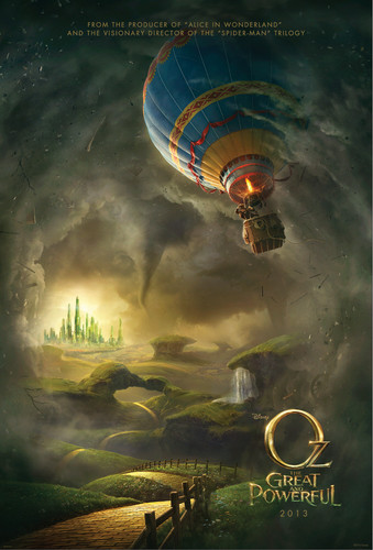 Disney's Oz: The Great and Powerful Poster