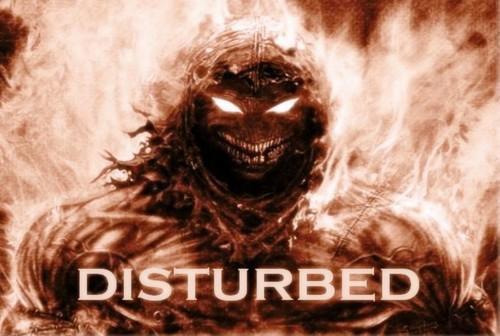 Disturbed wallpaper