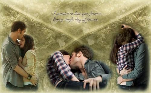 Edward Cullen & Bella cisne fan Art