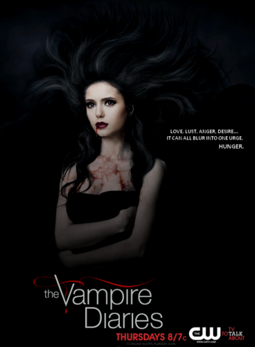 The Vampire Diaries wallpaper containing a portrait entitled Elena Gilbert | Season 4