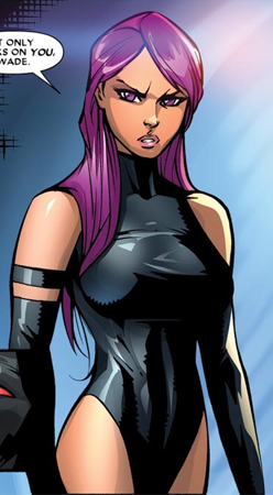 X-Men wallpaper with anime titled Elizabeth Braddock / Psylocke