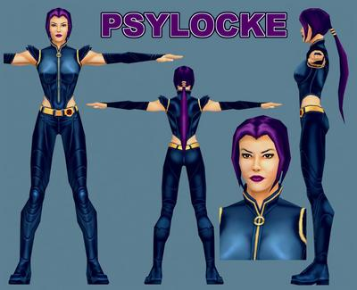 Elizabeth Braddock / Psylocke
