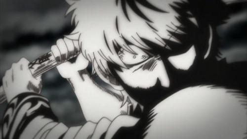 Enraged Gintoki