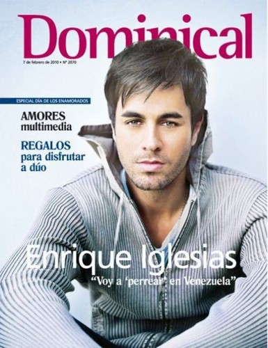 Enrique Iglesias Magazine Covers