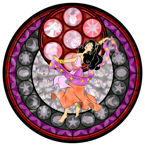 Esmeralda Stained Glass